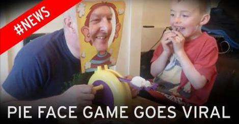 Hot News: Pie Face Game Goes Viral