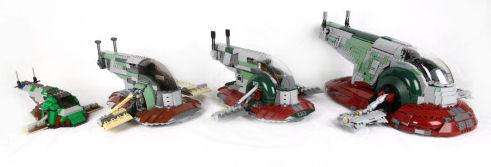 The evolution of LEGO Star Wars Slave